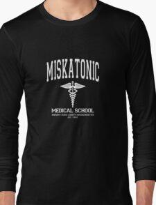 Miskatonic Medical School White Long Sleeve T-Shirt
