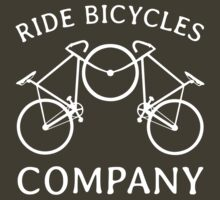 Ride Bicycles Company (dark) by PaulHamon
