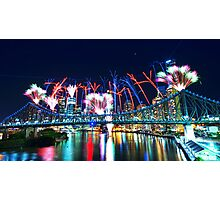 Riverfire Photographic Print