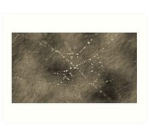 Stringa Pearls Art Print
