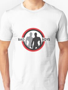Bad Boys Silohuette Red T-Shirt