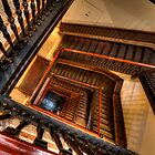 Fine Arts Building Stairway by Adam Bykowski