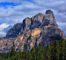 Castle Mountain 2 by Charles Kosina