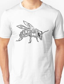 """Bee Spirit"" - Surreal abstract tribal bee totem animal Unisex T-Shirt"