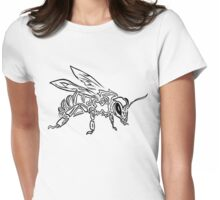 """""""Bee Spirit"""" - Surreal abstract tribal bee totem animal Womens Fitted T-Shirt"""