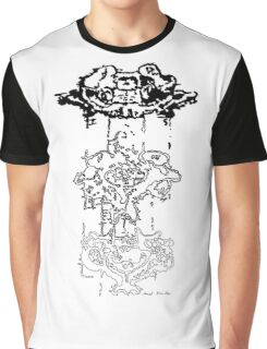 LINEart T-shirt : Three Layers Graphic T-Shirt
