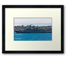 HMAS Parramatta Framed Print