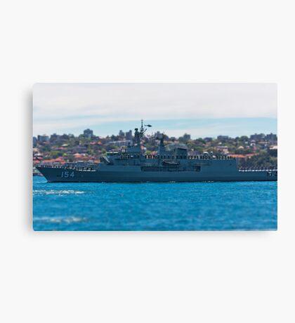HMAS Parramatta Canvas Print