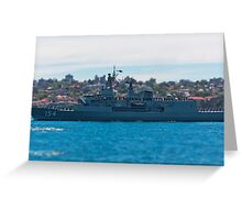HMAS Parramatta Greeting Card