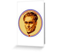 JOSIP BROZ TITO TONGUE Greeting Card