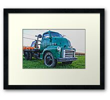 Ole Work Truck Framed Print