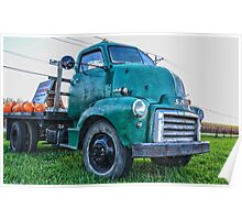 Ole Work Truck Poster