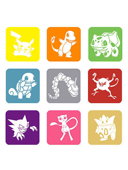 Pokemon Types by Royal Bros Art