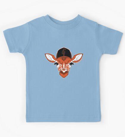 Belt Giraffe (2013 Edition) Kids Tee