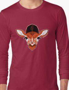 Belt Giraffe (2013 Edition) Long Sleeve T-Shirt