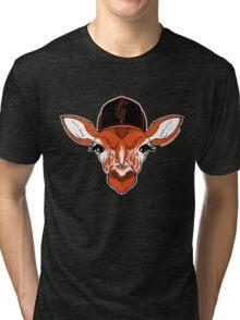 Belt Giraffe (2013 Edition) Tri-blend T-Shirt