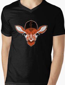 Belt Giraffe (2013 Edition) Mens V-Neck T-Shirt