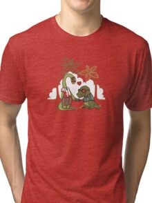 DiNERDsaur Love Tri-blend T-Shirt