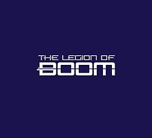The Legion of Boom Iphone Case by 17blackstudio