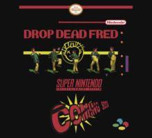 """Drop Dead Fred """"16 Bit"""" Kids Clothes"""