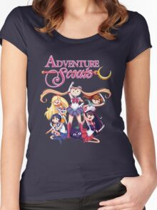 Adventure Scouts! Women's Fitted Scoop T-Shirt