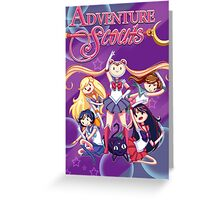 Adventure Scouts! Greeting Card