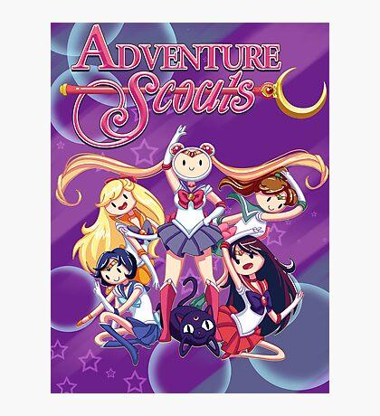 Adventure Scouts! Photographic Print
