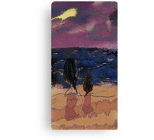Saturday Seaside Canvas Print