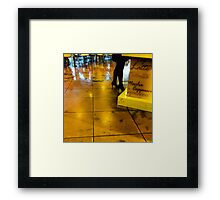 A Coffee in the Morning Involves Photography in Yellow Framed Print
