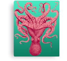 Octopus Kraken Squid Canvas Print