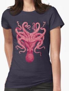 Octopus Kraken Squid Womens Fitted T-Shirt