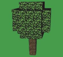 Minecraft Tree by BrotherDeus
