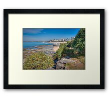 A Winters Day at Kings Framed Print