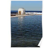 Ocean Baths Pumphouse Poster