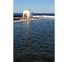 Ocean Baths Pumphouse Photographic Print