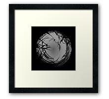 Spooky Night Theme Framed Print