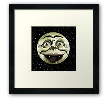 Rad Moon Rising Framed Print
