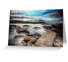 Surf Breaks Greeting Card