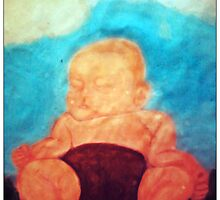 Peaceful Babe by Melanie Coutts