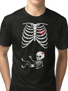 Skeleton Baby Tri-blend T-Shirt