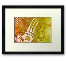 Green Passion Framed Print