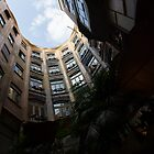 A Courtyard Curved Like a Hug - Antoni Gaudi's Casa Mila, Barcelona, Spain by Georgia Mizuleva