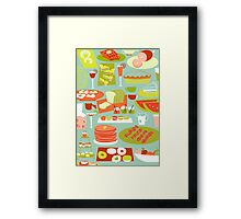 Big Breakfast Framed Print