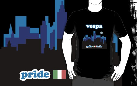 VESPA CITY by madeofthoughts