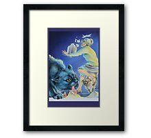 Boris and the Prawns Framed Print