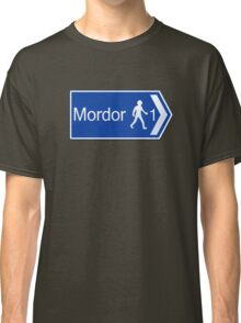 Footpath to Mordor Classic T-Shirt