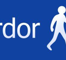 Footpath to Mordor Sticker
