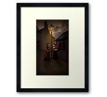 Lamp Light Ladies Framed Print
