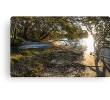 Myall River Sunset Canvas Print
