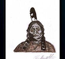 Sitting Bull by sylviahowarth